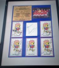 Sport Autograph Auction Football Cricket Boxing Motor Racing Horse Racing Rugby Olympics