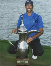 Alvaro Quiros 12x8 signed colour photo. Spanish professional golfer. Quiros was born in Guadiaro,