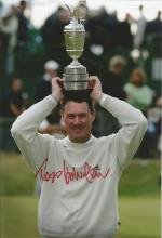 Todd Hamilton 12x8 signed colour photo. American professional golfer. He is best known for his