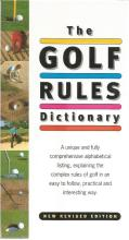 The Golf rules dictionary signed hardback book. Book signed by three of the all time great players