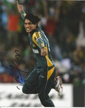 Mohammed Amir Pakistani international cricketer. He is a left-arm fast bowler, who opens the bowling