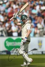Chris Rogers 12x8 signed colour photo. Former Australian cricketer who played for Australia.