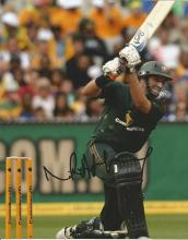Mike Hussey 10x8 signed colour photo. Former Australian cricketer, who played all forms of the game.