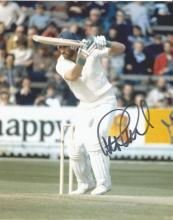 Graham Gooch 10x8 signed colour photo. English first-class cricketer who captained Essex and