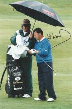 Ian Woosnam 9x6 signed colour photo. Welsh professional golfer. One of the Big Five generation of