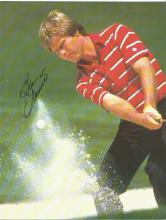 Ben Crenshaw 8x6 signed colour photo. Retired American professional golfer who has won 19 events