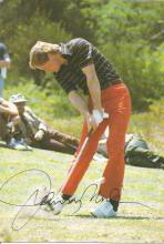Johnny Miller 9x6 signed colour photo. American former professional golfer. He was one of the top