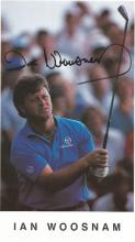 Ian Woosnam 8x6 signed colour photo. Welsh professional golfer. Nicknamed he was one of the Big Five