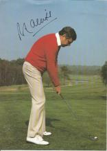 Peter Alliss 9x6 signed colour photo. Former English professional golfer, and is a television