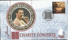 Peter Blake signed 1999 Benham single stamp Entertainers FDC.  Good condition. All signed items come with a Certificate of Authenticity and can be shipped worldwide.