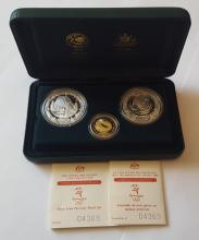 2000 Sydney Olympic Proof coin collection. Stuart Devlin