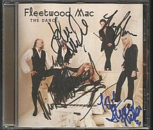 Fleetwood Mac The Dance CD autographed by four