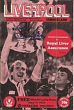 Liverpool Football Legends signed 1982 Liverpool