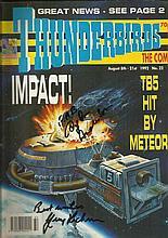 Thunderbirds signed original comic Impact