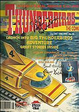 Thunderbirds signed original comic Launch into