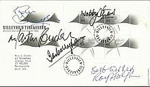 Football Legends signed1999 Millennium Timekeepers