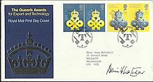 Dennis Thatcher signed 1990 Queen's Awards for