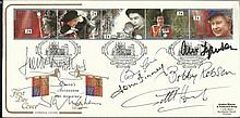 Football Legends signed1992 Queen's Accession