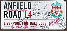 Liverpool Football Legends signed Stunning piece