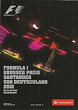 Michael Schumacher signed 2012 German Grand Prix
