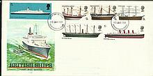 1969 Ships FDC collection of four covers 1 GPO & 3