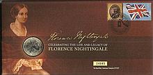 Coin Cover FDC PNC collection of 14 official