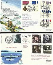 100 VIP signed RAF First Day cover collection. Two