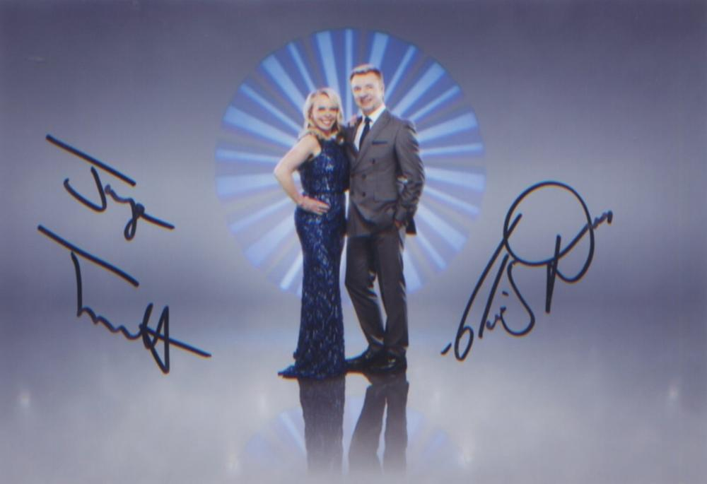 Torvill and Dean signed 7x5 picture of the legendary Olympians. Good condition. All autographs