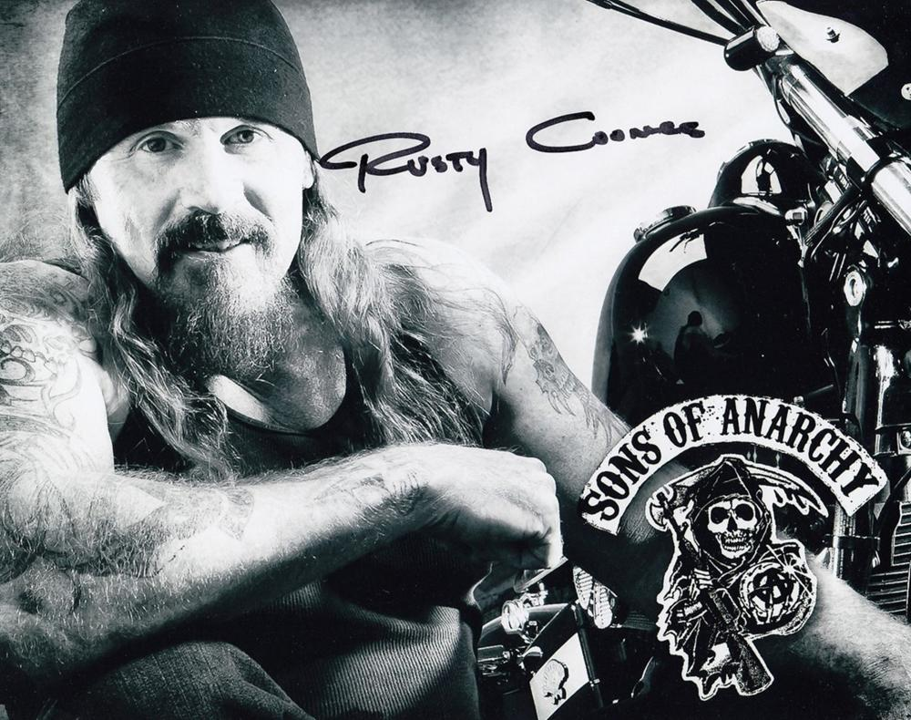 Blowout Sale! Sons Of Anarchy Rusty Coones hand signed 10x8 photo This beautiful 10x8 hand signed