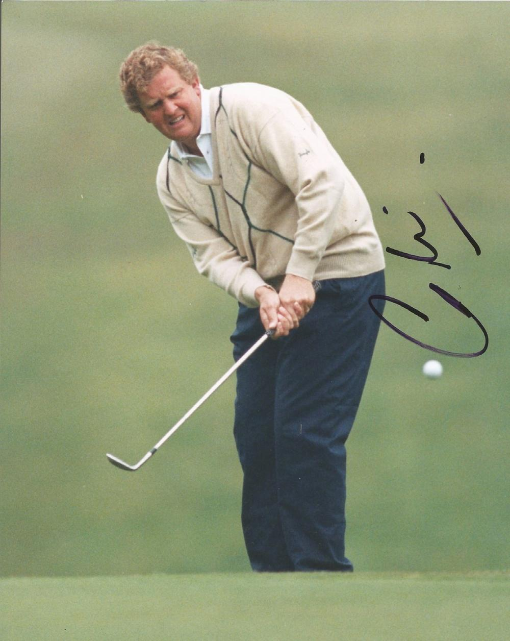 Colin Montgomerie signed 10x8 colour golf photo. Good condition. All autographs come with a