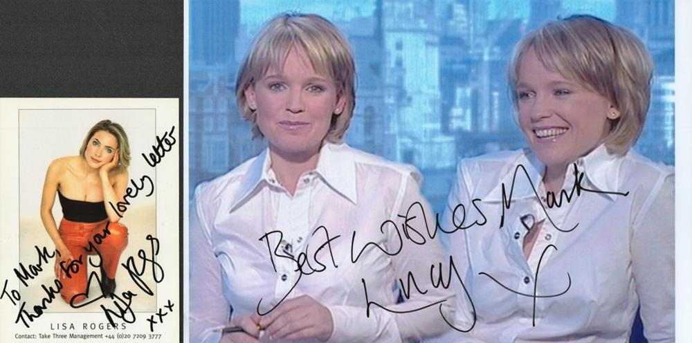 Entertainment Collection of News Presenters and News Readers Including: Penny Smith GMTV signed