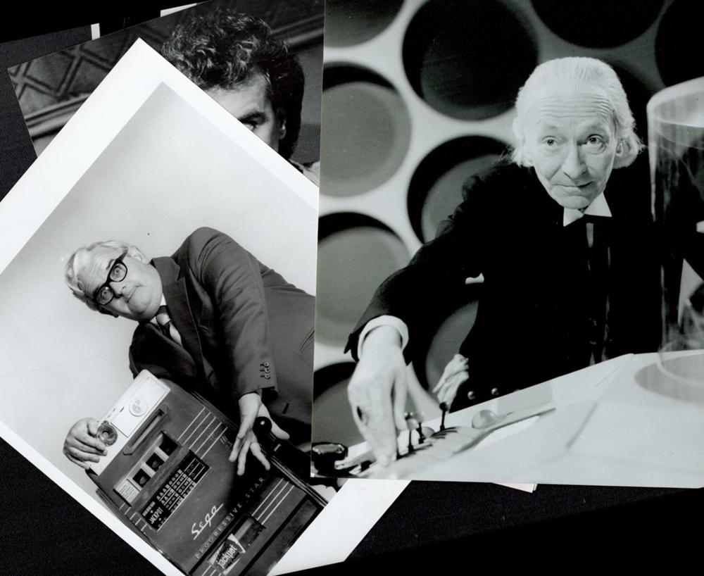 Entertainment Collection of black and white unsigned photos of actors including William Hartnell