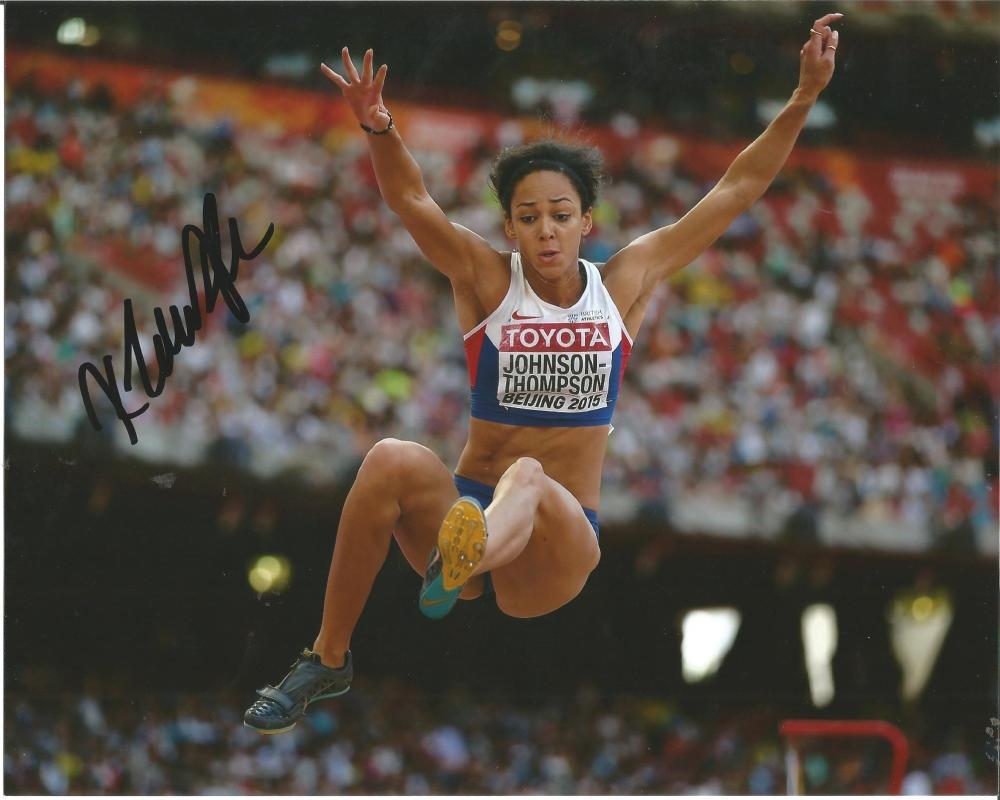 Katarina Johnson-Thompson Signed