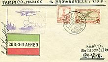 Charles Lindbergh signed scarce 1929 Tampico