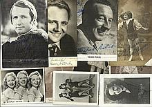Vintage Entertainment signed photo collection.