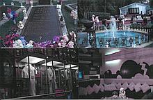 Elvis Presley Graceland photos ten original colour