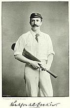 1800 Cricketers Vintage Prints two super late