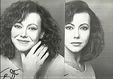 Jenny Agutter, five signed 10 x 8 b/w photos, few