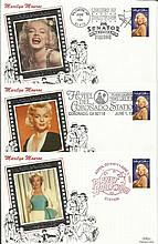 Marilyn Monroe silk Benham cover collection. 10