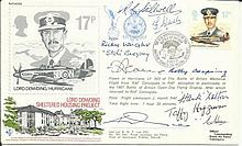 Nine Battle of Britain pilots signed Lord Dowding