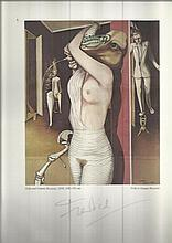 Wilhelm Freddie signed print collection. Four