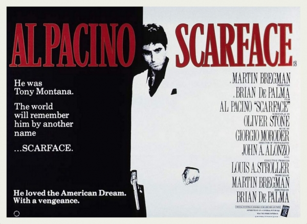 scarface a movie review of the story of a man with a dream