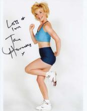 Jane Horrocks signed 10 x 8 colour photo. Superb p