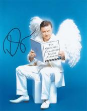 Ricky Gervais signed 10 x 8 colour photo. Excellen