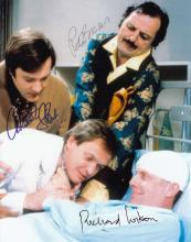 Only When I Laugh cast signed 10 x 8 colour photo.