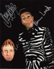 Red Dwarf actors signed 10 x 8 colour photo. 10x8