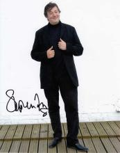 Stephen Fry signed 10 x 8 colour photo. Wonderful