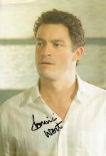 Dominic West signed 10 x 8 colour photo. Great pho