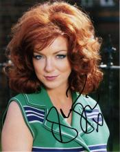 Sheridan Smith signed 10 x 8 colour photo. Superb
