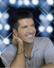 Simon Cowell signed 10 x 8 colour photo. Brilliant
